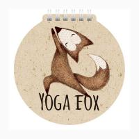 Блокнот Hatber Yoga fox- А6 - На спирали - 60 листов