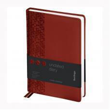 Ежедневник недатированный Berlingo Vivella Prestige - А5 - 160 листов - Коричневый