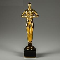 Статуэтка Оскар - 16 см - Керамика