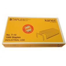 Скобы для степлера Kanex - №13  - 1000 штук