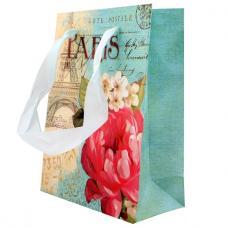 Пакет подарочный - 12,5*16,4*6 см