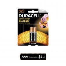 Батарея DURACELL Basic LR03-2BL - 1 штука - AAA