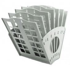 Лоток для бумаг - Веер-1 - 7 отделений - Серый