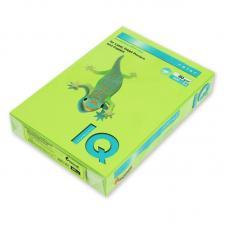 Бумага цветная IQ Color - А4 - 80 г/кв.м - 500 листов - Зеленая липа