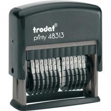 Нумератор полуавтоматический Trodat - 3,8 мм - 13-разрядный