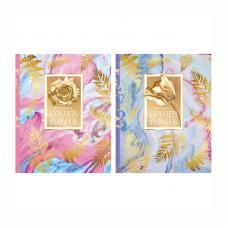 Бизнес-блокнот BG Golden flower - А5 - 80 листов