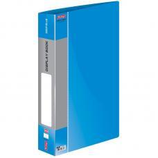 Папка пластиковая Berlingo - A4 - 800 мкм - С вкладышами - Синяя