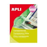 Пленка для проектора Apli - А4 - Для лазерного принтера - 100 листов