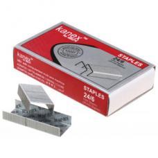 Скобы для степлера №24/6 - Kanex - 1000 штук