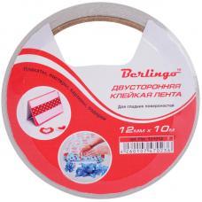 Скотч двусторонний Berlingo - 12 мм * 10 м