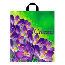 Пакет с петлевой ручкой Крокус - 40*44 см