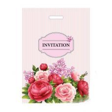 Пакет Invitation - 30-40 см - С прорубной ручкой