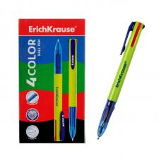 Авторучка шариковая Erich Krause - 4 цветная