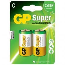 Батарейки алкалиновые GP Super LR14 14A - C - 1,5В - 2 штуки