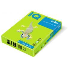 Бумага цветная IQ Color - А4 - 500 листов - Зеленый неоновый