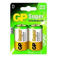 Батарейка алкалиновая Super Ultra - 1.5 В - LR20/13 A - 2 шт