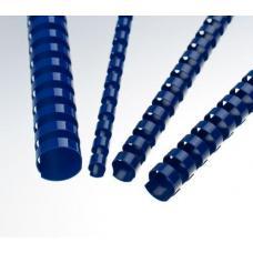 Пружины для перфопереплета - 14 мм - 100 штук - Синие