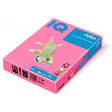 Бумага цветная IQ Color - А4 - 500 листов - Розовый неоновый