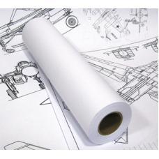 Рулон для инженерных машин - А0+ - 914 мм * 76 мм * 175 м