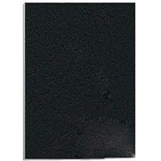 Обложка для перфопереплета O.Universal - А4 - Картон - 230 г - 100 листов - Черная