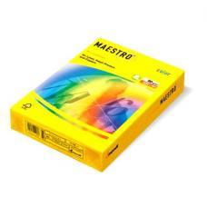 Бумага цветная IQ Color - А4 - 500 листов - Канареечно-желтый