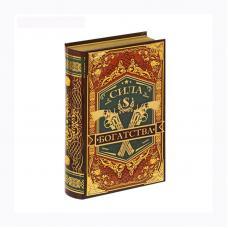 Книга - сейф - Сила богатства - Металлические наклейки
