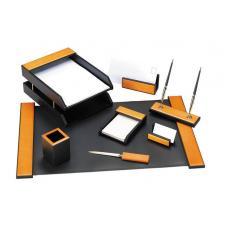 Набор настольный деревянный Erich Krause - 8 предметов - Черный