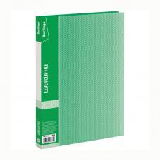 Папка Berlingo Diamond - А4 - 700 мкм - С боковым зажимом - Зеленая
