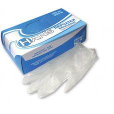 Перчатки виниловые - Неопудренные - Размер L