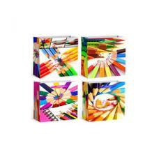 Пакет подарочный с ручками 15-0021GB - 23*18*10 см
