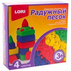 Набор для лепки Радужный песок - 4 цвета