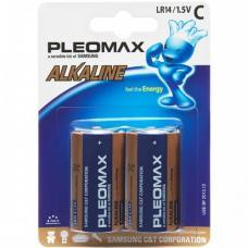 Батарейки Samsung Pleomax - C - LR14 - 14A - 1,5В - 2 штуки