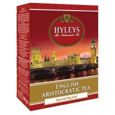 Чай Hyleys - Английский Аристократический - Черный - Крупнолистовой чай - 100 гр