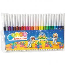 Фломастеры ArtSpace Космонавты - 24 цвета