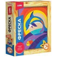 Фреска-картина из песка Дельфин Lori - Для детей от 7 лет
