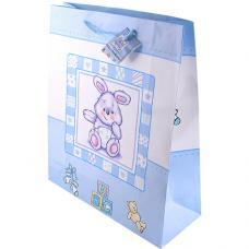 Пакет подарочный Медведи - 26*32*10 см - Без ламинации