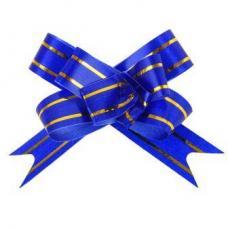 Бант-бабочка - 1.2 см - Синий
