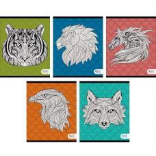 Тетрадь - Фантастические животные - А5 - 48 листов - Клетка