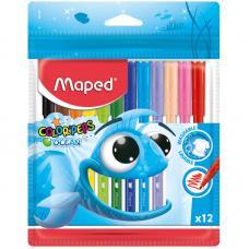 Фломастеры Maped Color Pep's Ocean - 12 цветов