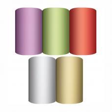 Бумага декоративная упаковочная - 70*150 см - Однотонная
