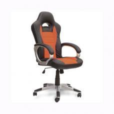 Кресло для руководителя FERRARI - Черно-оранжевое