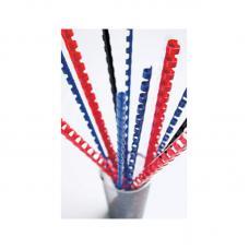 Пружины для перфопереплета - 0,6мм - 100 штук - синие