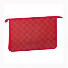 Папка для тетрадей ArtSpace Красный моноколор - 2 отделения - А4 - Пластик - На молнии