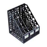 Лоток вертикальный Стамм - Пластик - 5 секции - Черный