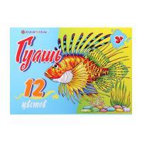 Гуашь Darvish Рыба - 12 цветов - 240 мл