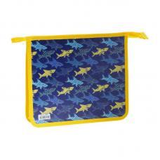Папка для тетрадей ArtSpace Shark - 1 отделение - А5 - На молнии