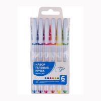 Набор гелевых ручек OfficeSpace - 6 цветов - 1,0 мм