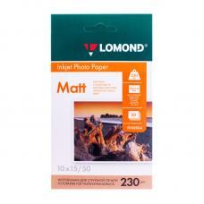 Фотобумага Lomond - А6 - Матовая - Односторонняя - 230 г/кв. м - 50 листов