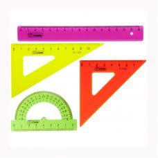 Набор геометрический Стамм - 4 предмета - Цветной