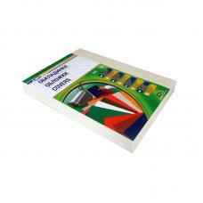 Обложка для перфопереплета Universal - А4 - Белая - 100 листов